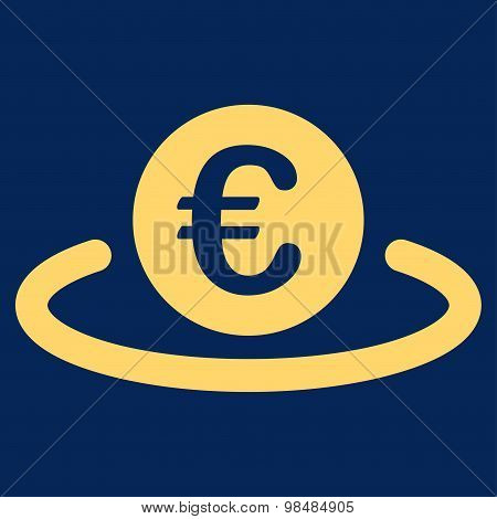 Deposit icon from BiColor Euro Banking Set