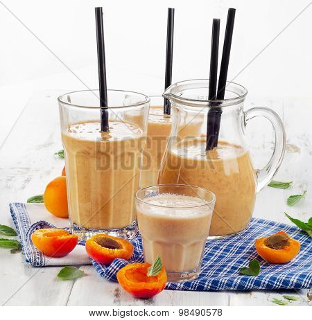 Fruity Shakes With Fresh Fruits