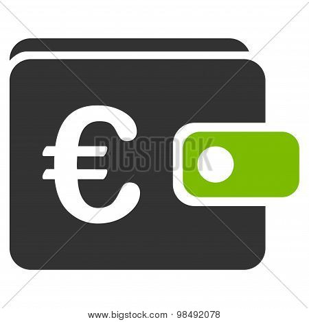 Purse icon from BiColor Euro Banking Set