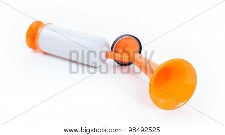 Manual Air Horn Isolated