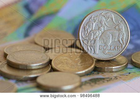Australian One Dollar Coin