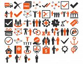 Business Icon Set poster