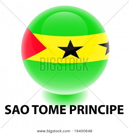Orb Sao Tome Principe Flag