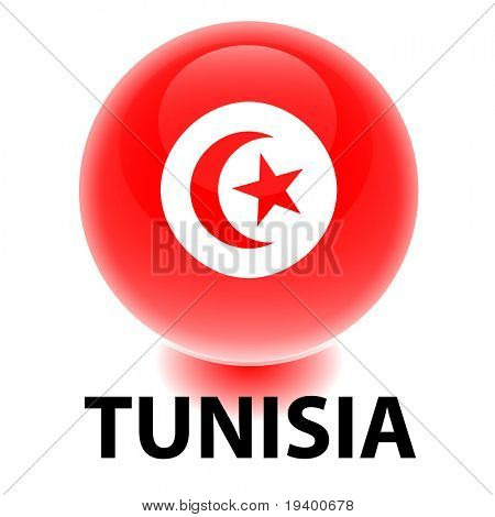 Orb Tunisia Flag