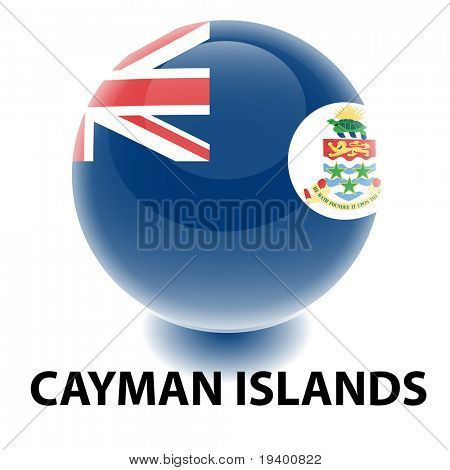 Orb Cayman Islands Flag