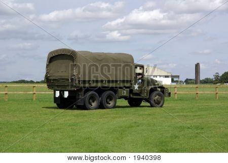 Us Military 6 Wheel Truck
