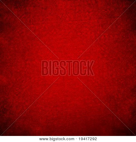 Red grunge felt useful for christmas background