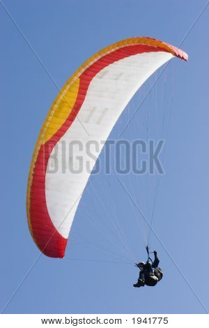 Colorful Paraglider