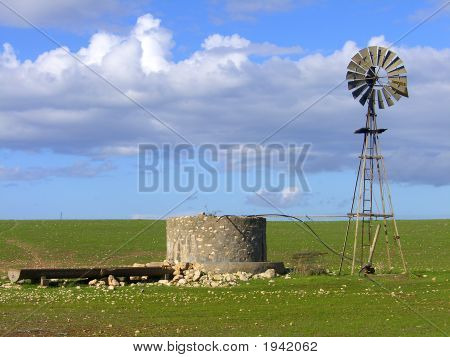 Windmill  Old Tank