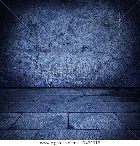 Grungy stone chamber