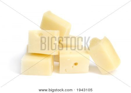 Pieces Of Cheese
