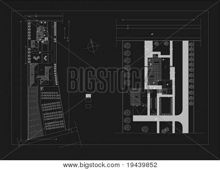 architectural basic plan