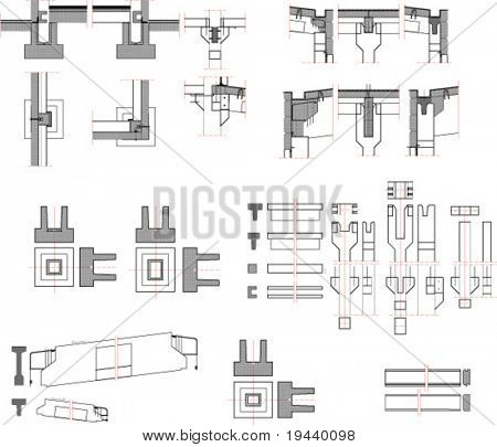 architectural details print