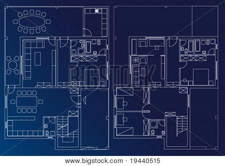 interior blueprint plan