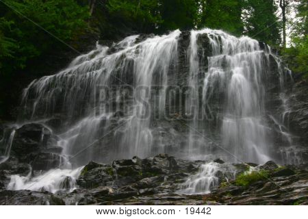 Cascade In The Mountains
