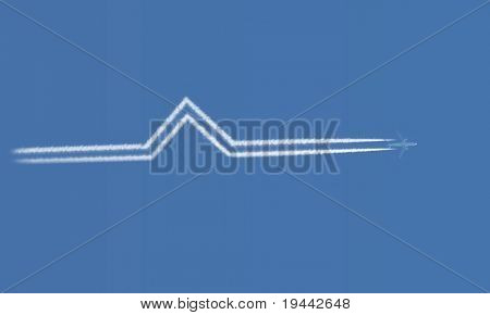 Contrail Bend
