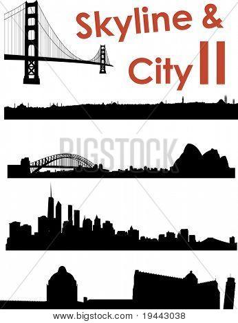 Skyline and City II Background