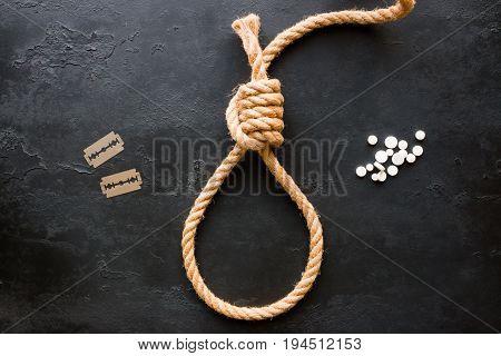 Methods Of Suicide Rope Slipknot