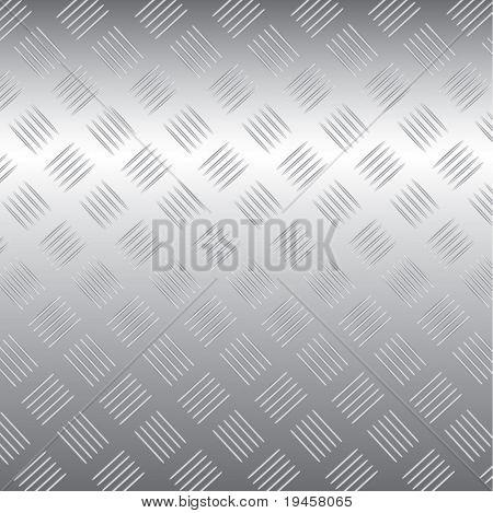 Vector metal plate texture
