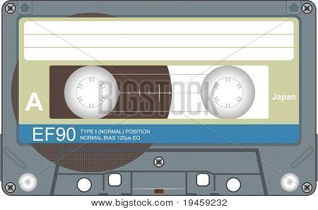 Audio tape illustration