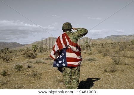 Patriotic Soldier