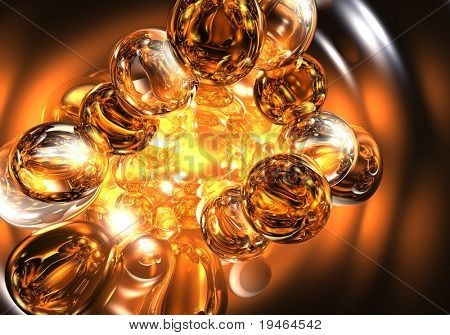 Golden Bubbles