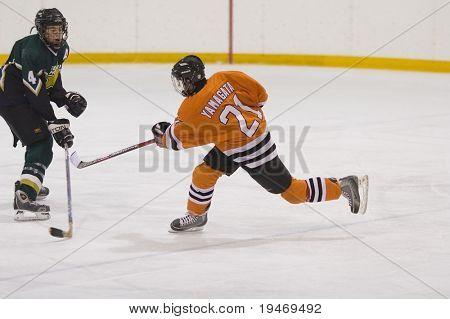 Tiro de hockey
