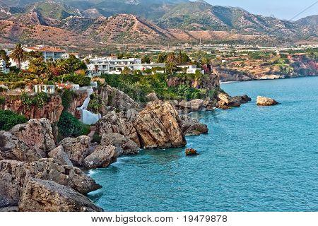 Mediterranean Sea, Nerja, Spain