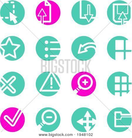 Circle Viewer Icons