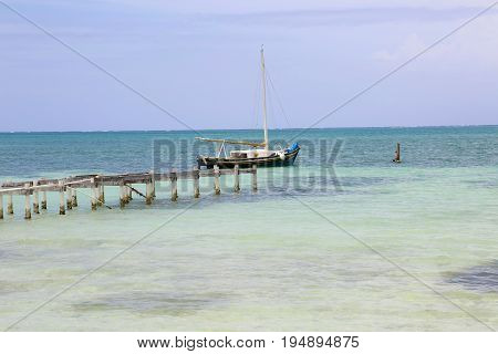 Summer in Caye Caulker Island in Belize