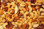image of mixed nut  - Mixed Nuts - JPG