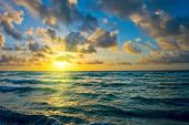 picture of atlantic ocean  - Sunrise - JPG
