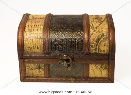 Old Style Wooden Box