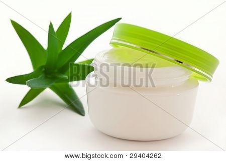 Cream with Aloe