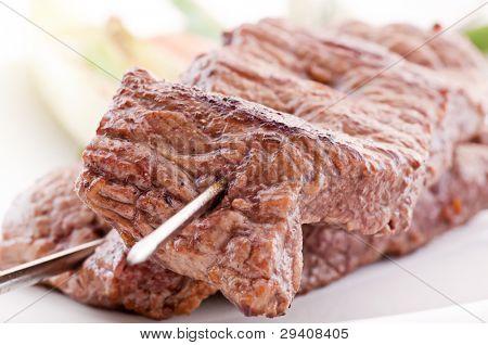 Beefskewer