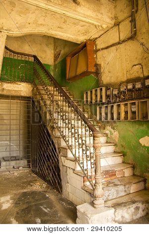 Interior Building, Cuba