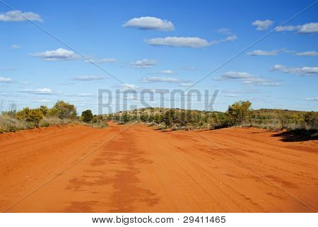 Sandy Outback Track