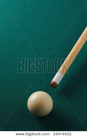 billiard game situation
