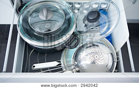 Kitchen Utensils In A Box