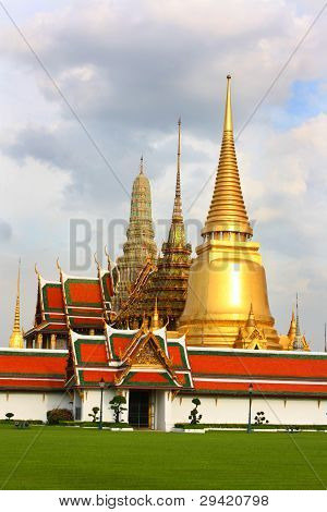 Temple of the Emerald Buddha, Bangkok, Thailand