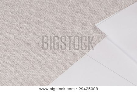 Background: Paper On Cloth