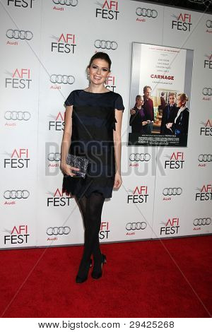 LOS ANGELES - NOV 5:  Guest.. arrives at the AFI FEST 2011 Gala Screening of