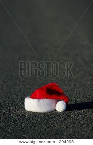 Sombrero de perdida de Santa