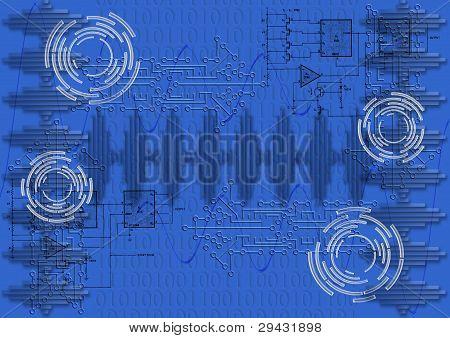 digitale Elektronik und binäre Zahlen