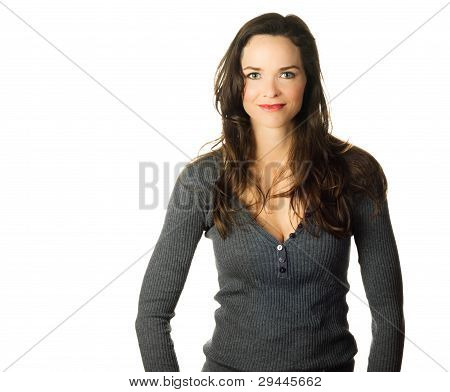 Portrait Of Beautiful Confident Woman