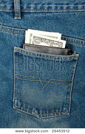 Money In Pocket, Blue Jeans