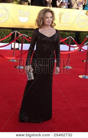 LOS ANGELES - JAN 29:  Jessica Lange arrives at the 18th Annual Screen Actors Guild Awards at Shrine Auditorium on January 29, 2012 in Los Angeles, CA