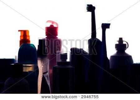 Bathroom Cabinet Silhouette I