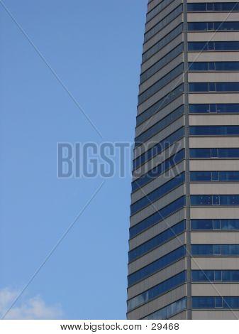 Skyscraper With Blue Sky
