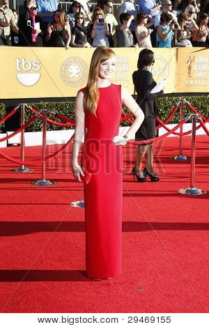 LOS ANGELES, CA - JAN 29: Ahna O'Reilly at the 18th annual Screen Actor Guild Awards at the Shrine Auditorium on January 29, 2012 in Los Angeles, California